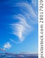 background with blue sky and big cloud 28017929
