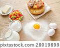 cake, eggs, flour 28019899