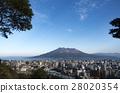 사쿠라지마, 푸른 하늘, 파란 하늘 28020354