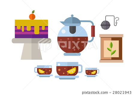 Tea ceremony traditional asian drink vector 28021943