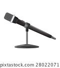 Vintage metal studio microphone. 28022071