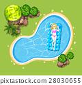 green pool woman 28030655