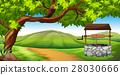 場景 花園 綠色 28030666