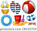 Beachwear and other beach toys 28030704
