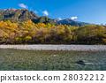 The fall season of kamikochi in Hotaka Ranges      28032212