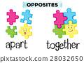 opposite word puzzle 28032650