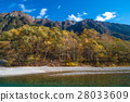 The fall season of kamikochi in Hotaka range 28033609