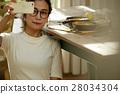 成熟的女人 一個年輕成年女性 女生 28034304