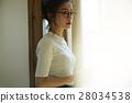 在家放鬆的婦女 28034538