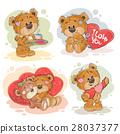 熊 泰迪熊 矢量 28037377