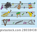 Musical Instrument Cartoon, Illustration Vector10 28038438
