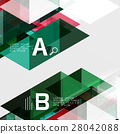 triangle abstract vector 28042088