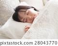 成熟的女人 一個年輕成年女性 女生 28043770