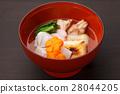 zoni, japanese new year soup, mochi 28044205