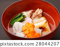 zoni, japanese new year soup, mochi 28044207