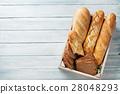 Fresh bread 28048293