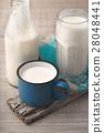 milk, glass, bottle 28048441