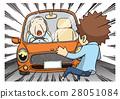 vector, vectors, car accident 28051084
