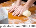baker, dough, knead 28051188
