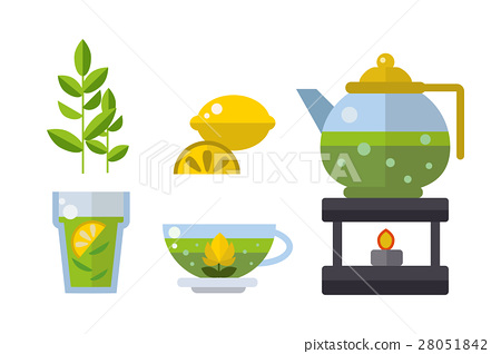Tea ceremony traditional asian drink vector 28051842