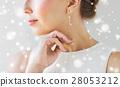 woman, jewelry, earring 28053212