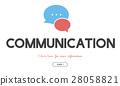 Communication Service Help Desk Concept/ 28058821