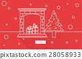 Christmas Celebration Enjoyment Graphic Concept 28058933