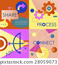 business colourful communication 28059073