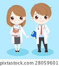 cute cartoon doctors 28059601