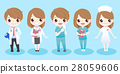 cute cartoon doctors 28059606