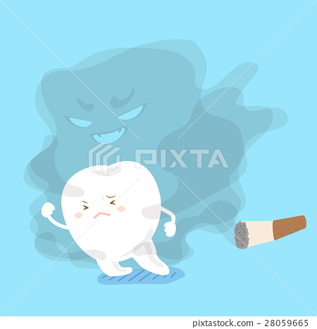 tooth away from smoking 28059665