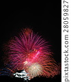 August Shiga Hikone Castle · Tenso and fireworks 28059827