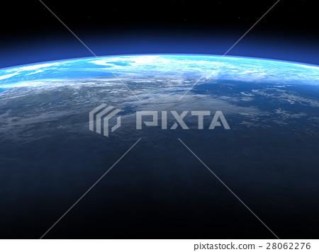 Earth 3DCG perming3DCG160812插图素材 28062276