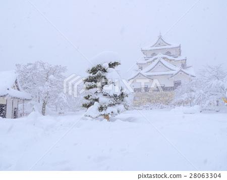 국보 히코 겨울 풍경 28063304