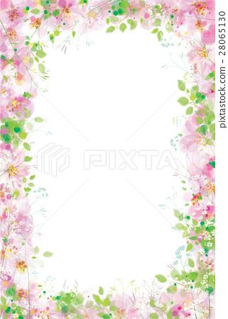 Vector  floral  frame. 28065130