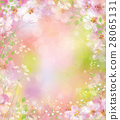 Vector spring floral background. 28065131