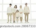 미소의 3 세대 가족 28067333