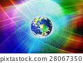 Graphical Digital Technology World Background 28067350