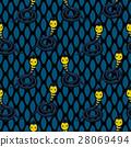 pattern, cobra, snake 28069494