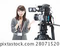 ผู้ประกาศ,กล้อง,ผู้หญิง 28071520