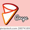 Crepe Logo Design 28074169