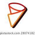 Crepe Icon Design 28074182