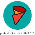 Crepe Icon Design 28074215