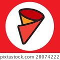 Crepe Icon Design 28074222