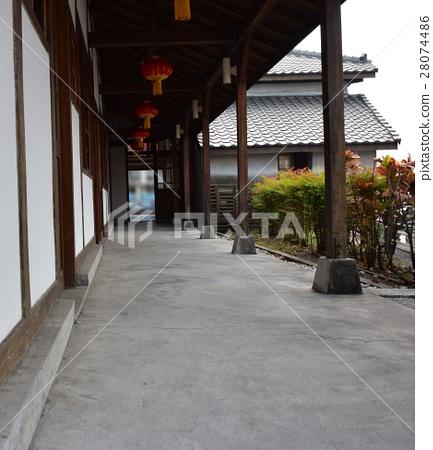 日式長廊老屋建築 28074486