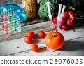Genetically modified food concept 28076025