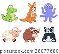 cartoon animals collection 28077680