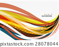 Colorful stripes on light background 28078044