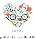 I love sport poster 28078439