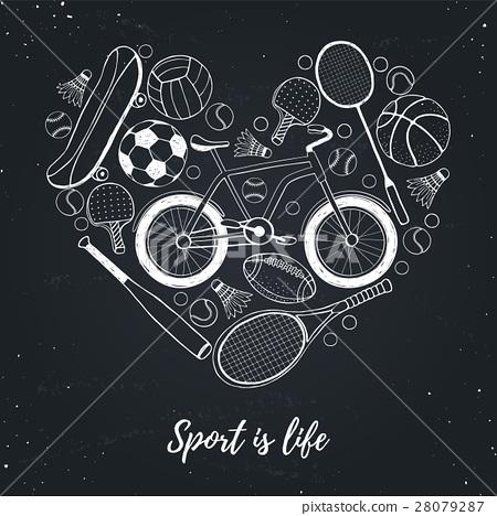 I love sport poster 28079287